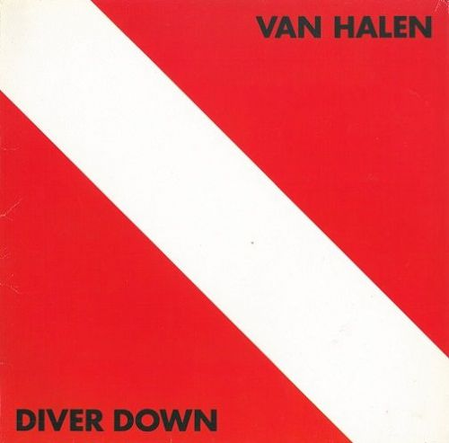 VAN HALEN Diver Down Vinyl Record LP German Warner Bros. 1982